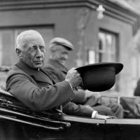 Norwegian Polar explorer Captain Roald Amundsen during a visit to Paris, France, on June 16, 1928. (AP Photo)
